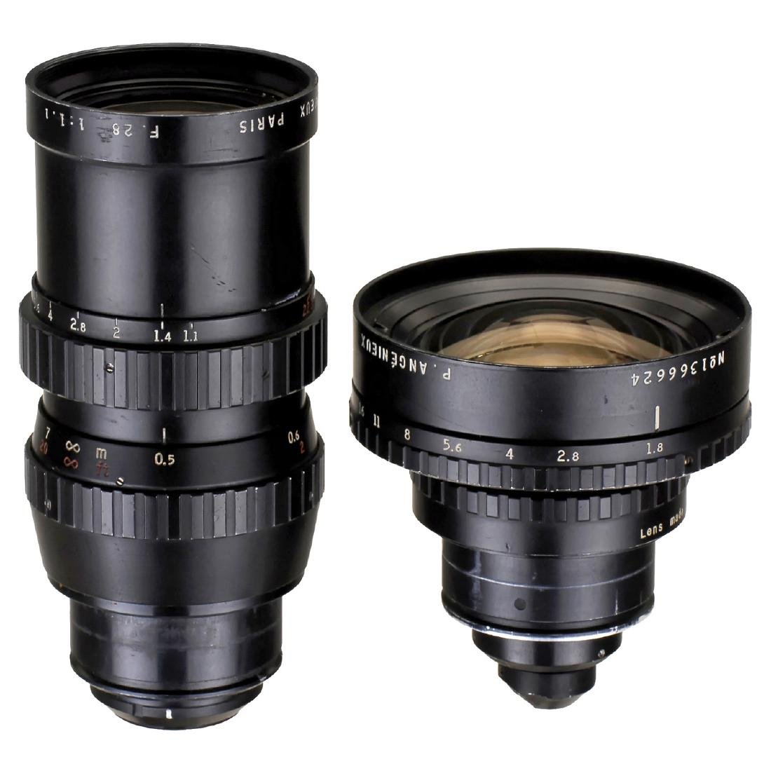 2 St-Mount Movie Camera Lenses, c. 1975