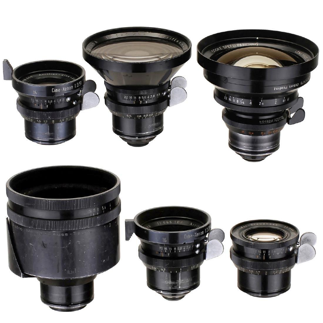 6 Lenses for Arriflex St