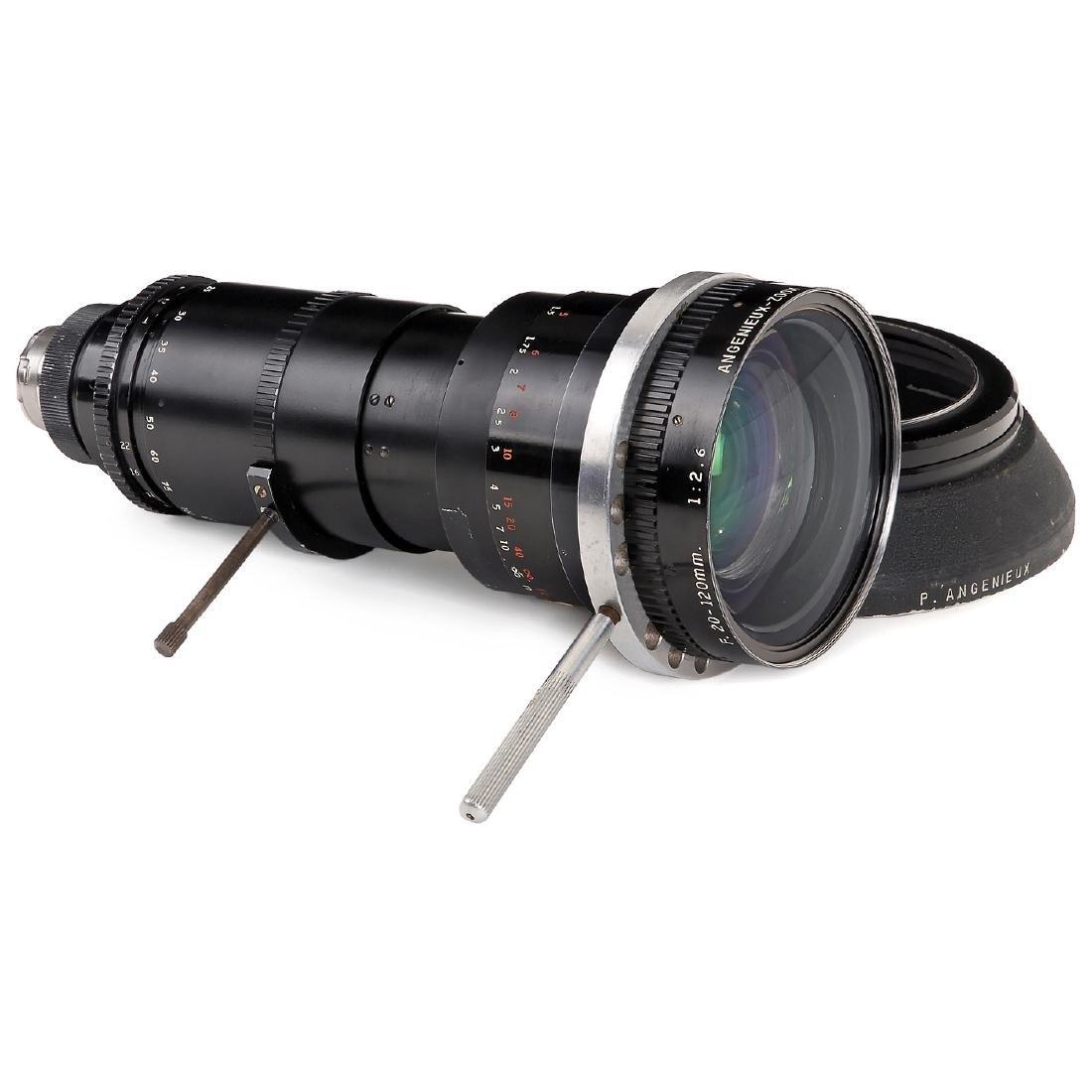 "Arriflex Zoom ""Angenieux 1:2,9/20-120 mm"", c. 1970"