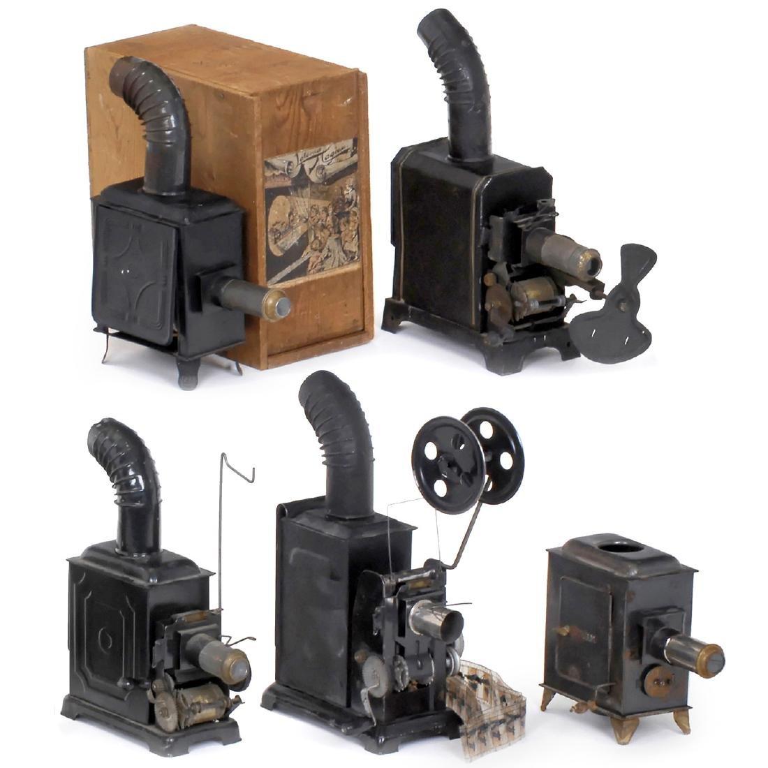 5 Cinematographs and Magic Lanterns, c. 1912