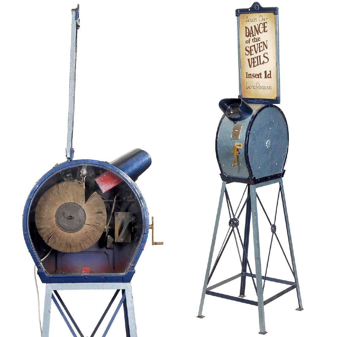 Original (Coin-Operated) Mutoscope with Reel, c. 1930