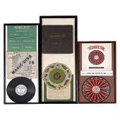 3 Framed Gramophone Games