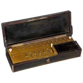 Thomas' Arithmomètre, 1862-63