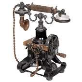 Skeleton Telephone by Ericsson Beeston, c. 1905
