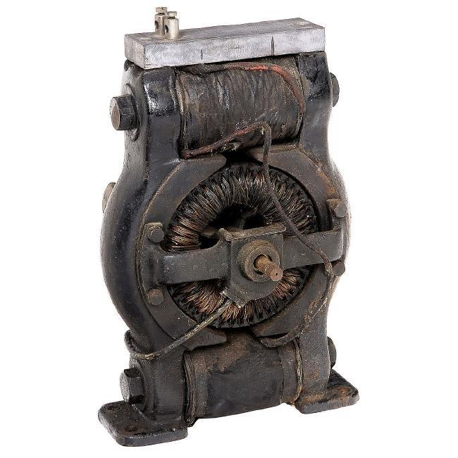auktion science \u0026 technology, toys \u0026 automata am 10 11 2018early dc electric motor, c 1900