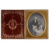 Whole Plate Daguerreotype, c. 1843