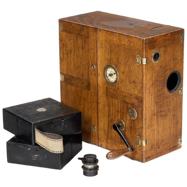 Ernemann Kino A 35Â mm Movie Camera, c. 1908