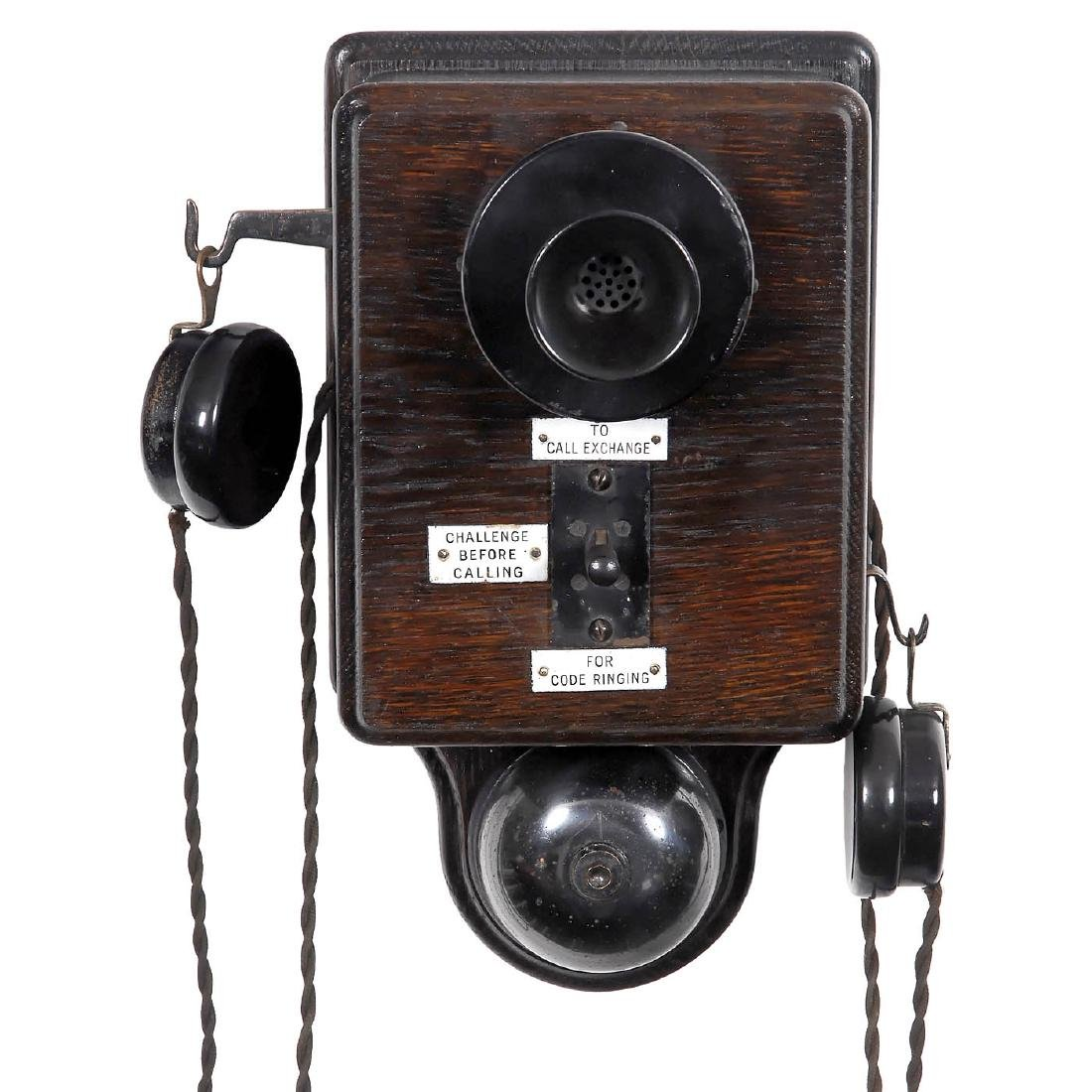 Ericsson Wall Telephone, c. 1920