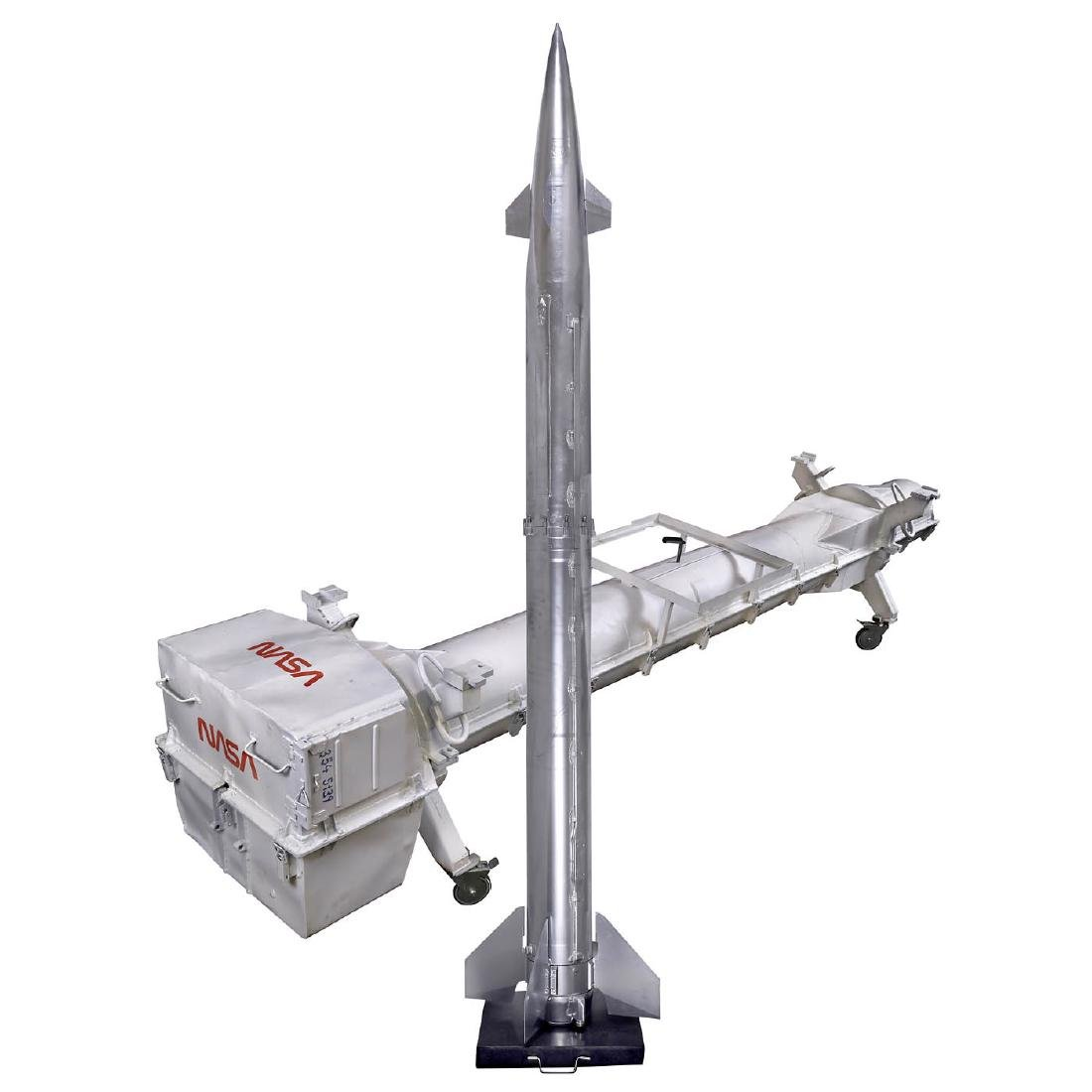 Rocket Wind Tunnel Test Model, c. 1980