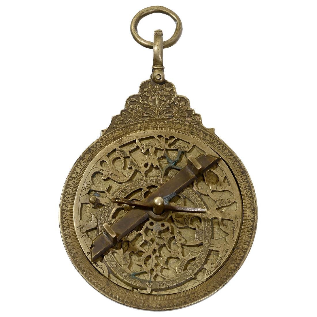 Rare Islamic Astrolabe, probably late 18th/early 19th