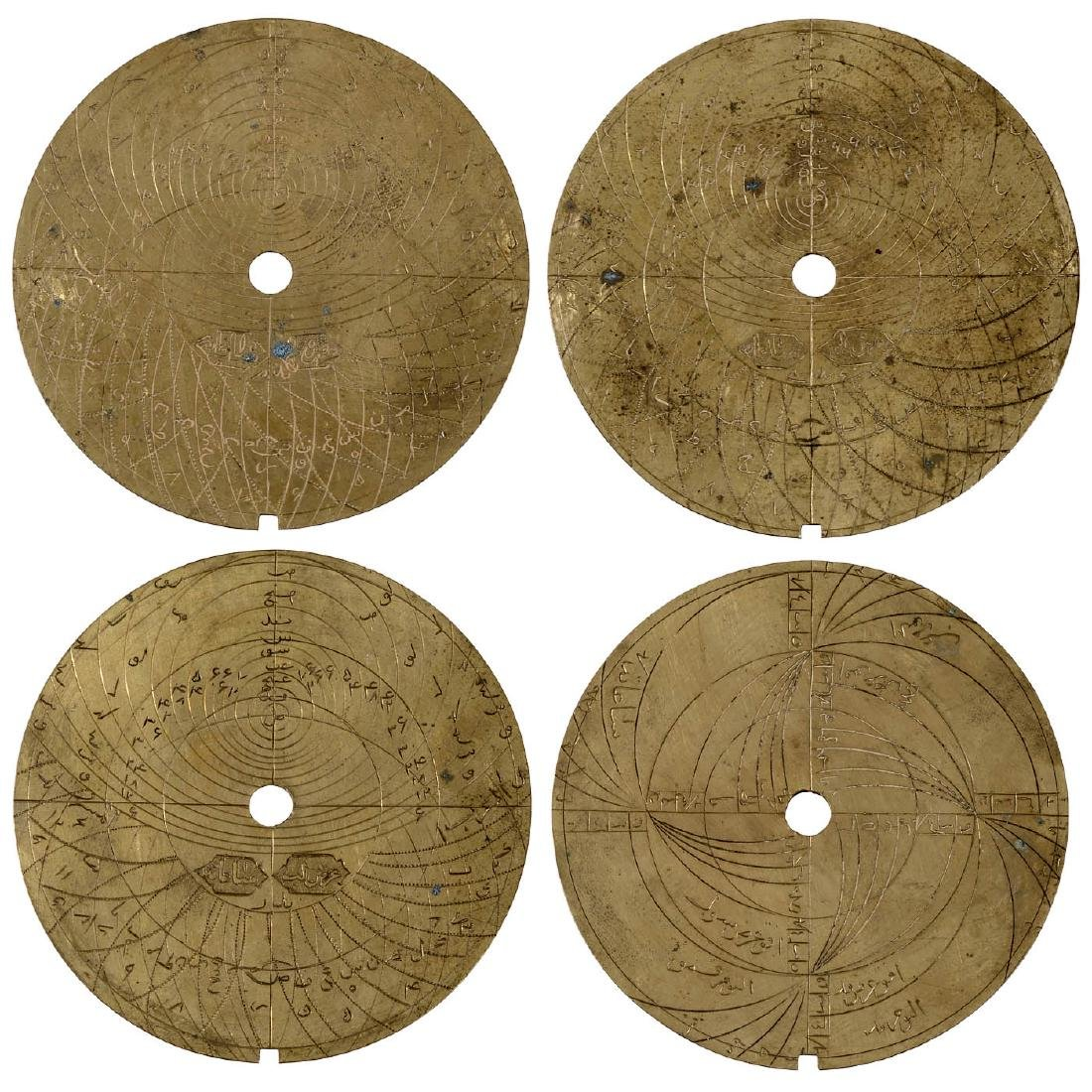 Rare Islamic Astrolabe, probably late 18th/early 19th - 5