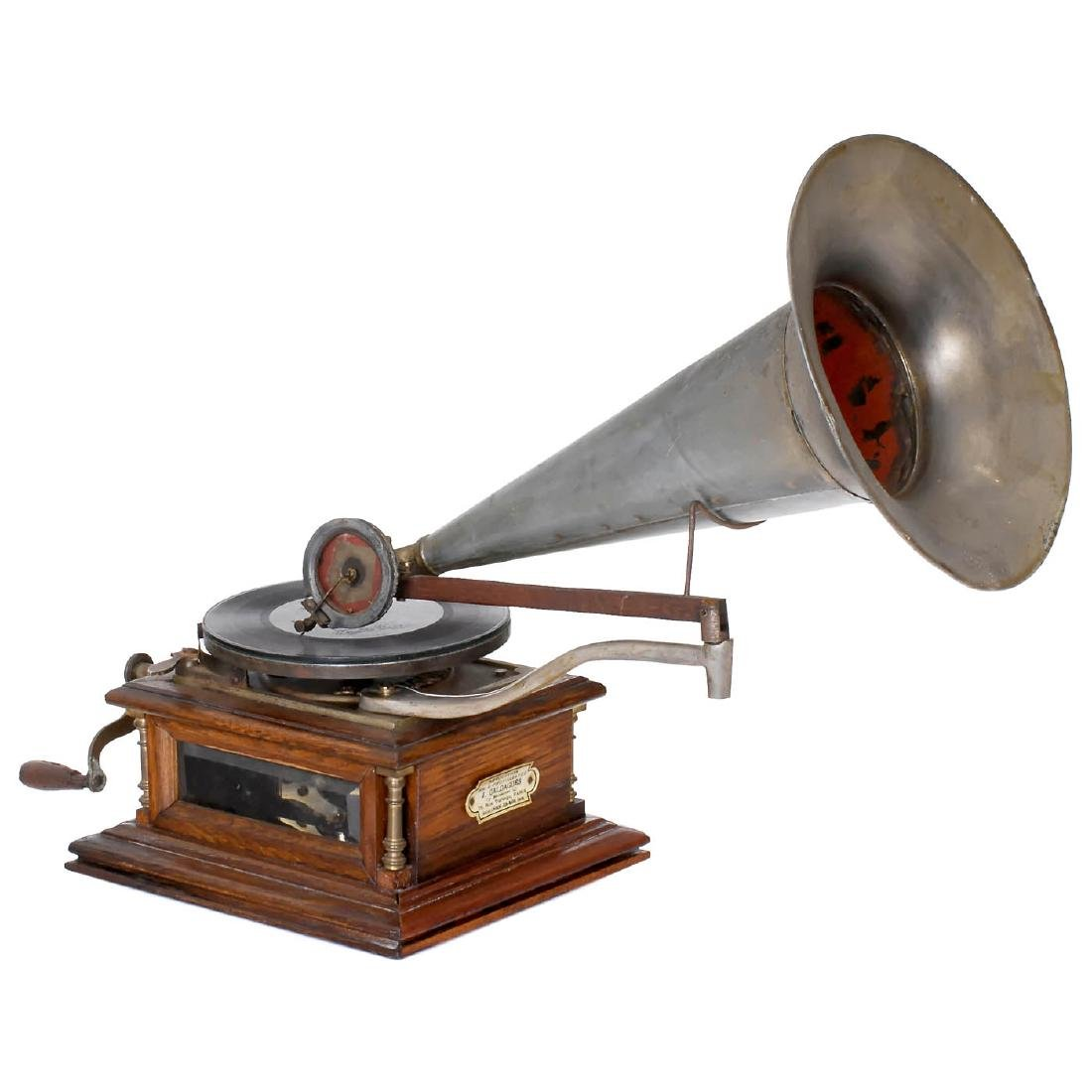 Zonophone Style A Gramophone, c. 1900