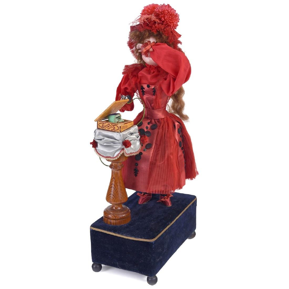 """""""Girl on Telephone"""" Musical Automaton by Louis Renou, - 3"""