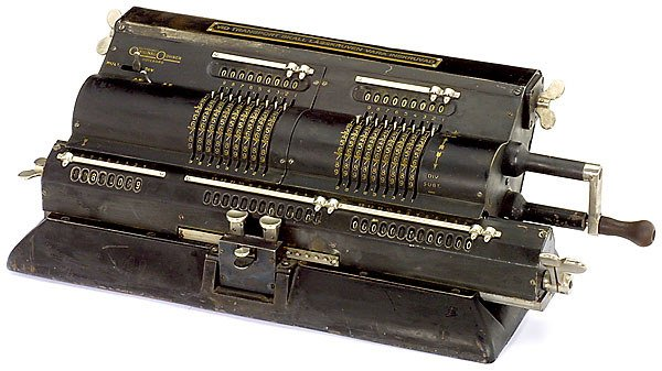 2: Doppel-Odhner, um 1937