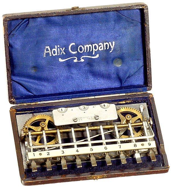 6: Adix, 1903