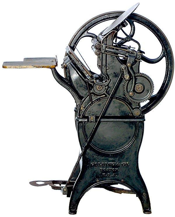 424: Tiegel-Druckpresse Pearl,1895-Printing press - 3