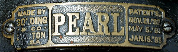 424: Tiegel-Druckpresse Pearl,1895-Printing press - 4