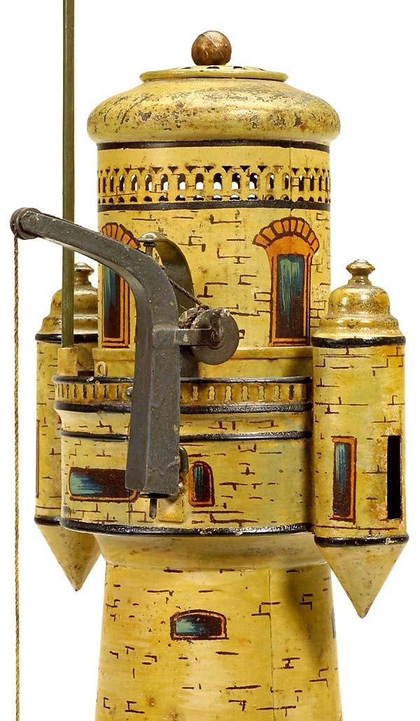 731:Märklin tin toy: Lighthouse,1900-Marklin-Maerklin - 4