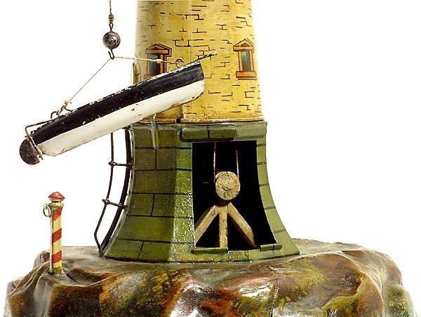 731:Märklin tin toy: Lighthouse,1900-Marklin-Maerklin - 5