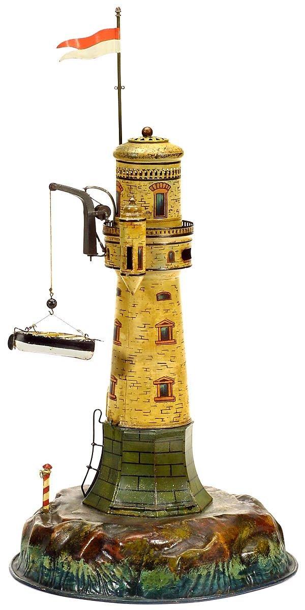 731:Märklin tin toy: Lighthouse,1900-Marklin-Maerklin - 6