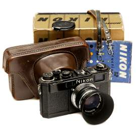 Nikon S2 (Black), Type 1, c. 1956