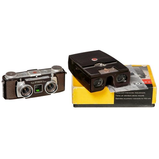 Kodak Stereo Camera With Viewer 1954 Sep 21 2019 Auction Team Breker In Germany