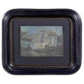 """Daguerreotype by Louis S. Bonijol """"Genève"""" (1/2 Plate),"""