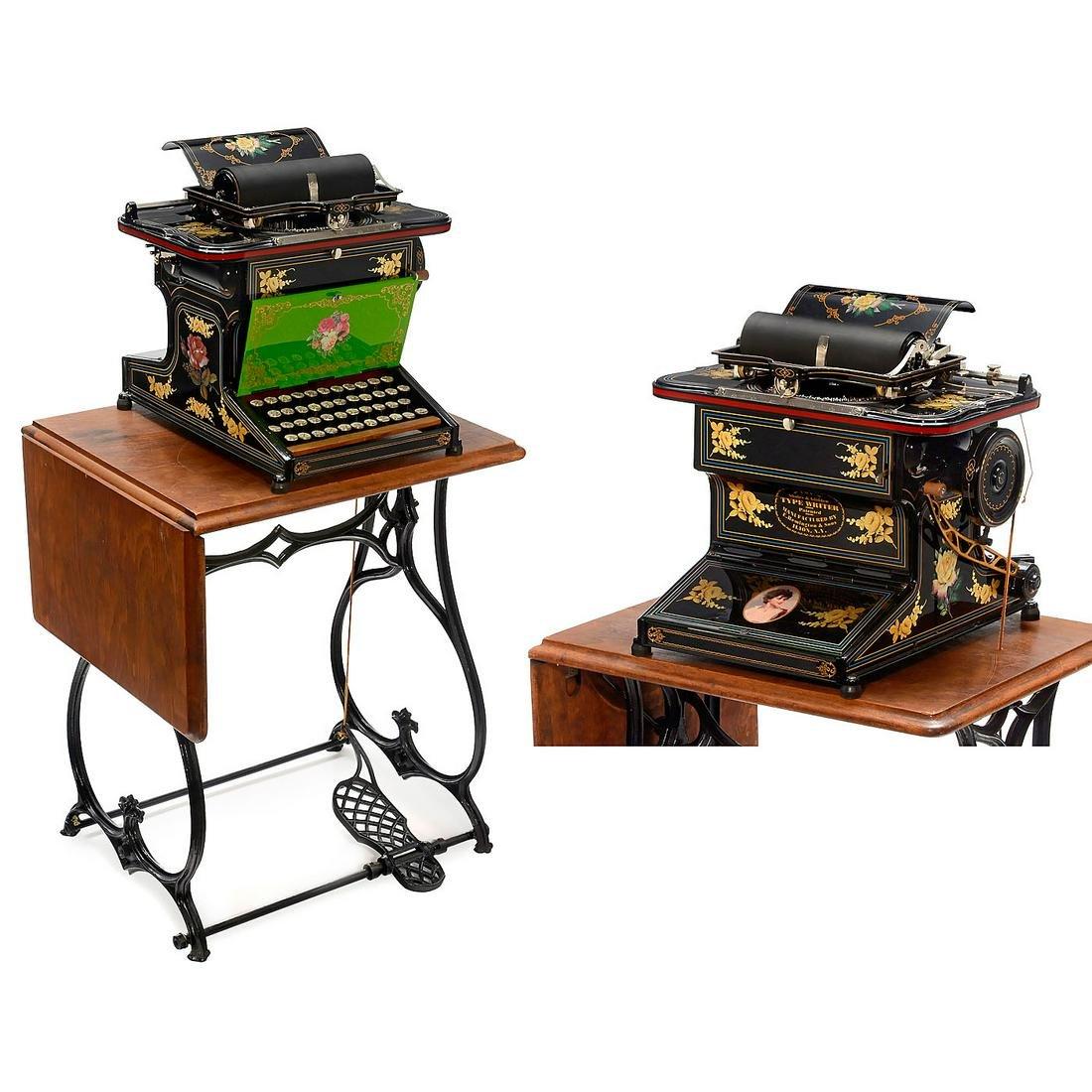 Sholes & Glidden Typewriter, 1873