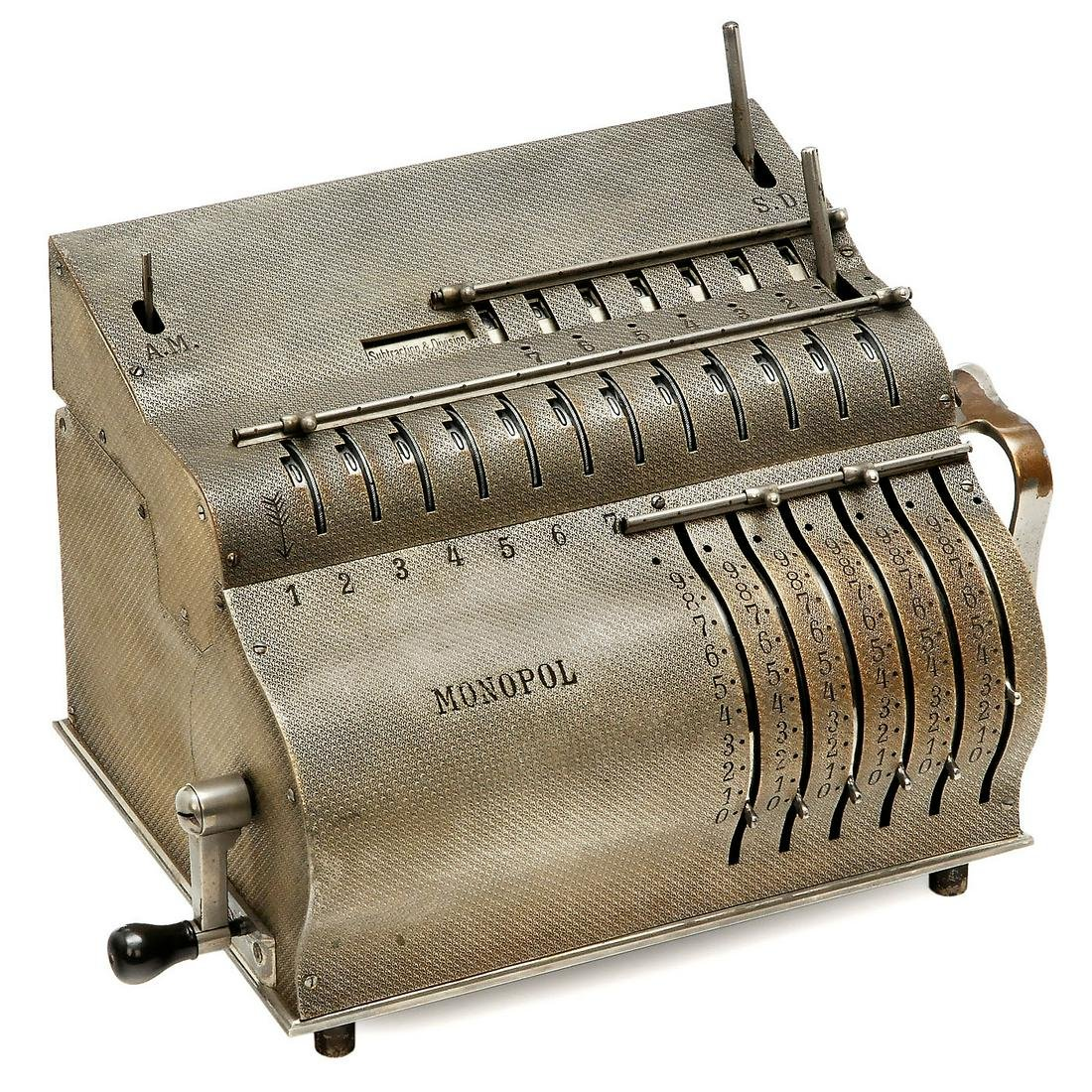 Monopol Calculating Machine, 1902 onwards