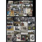 Approx 100 Original Office and Typewriter Postcards