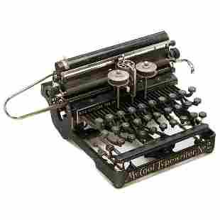 McCool Typewriter No. 2, 1904