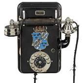 "Swedish Wall Telephone ""Rikstelefon"" by Ericsson, c."