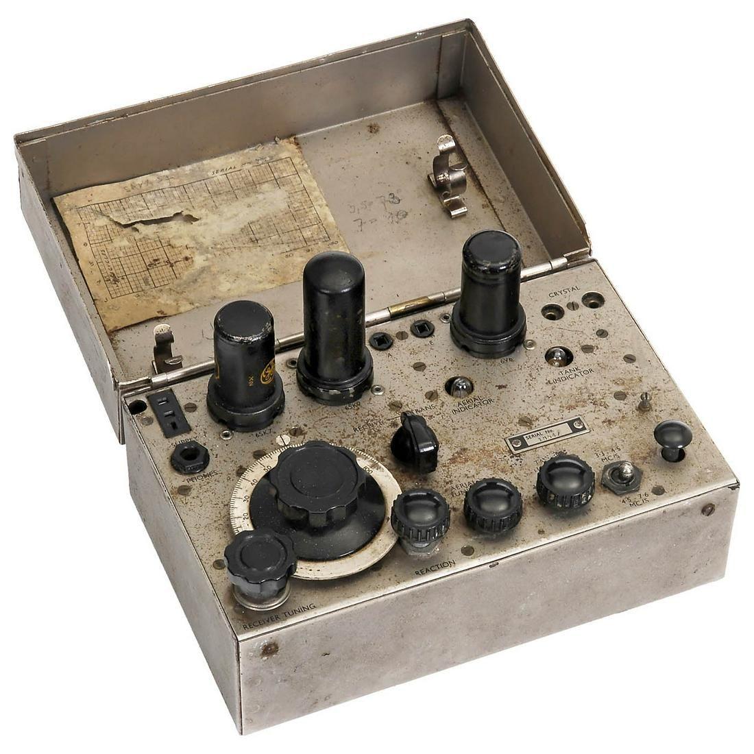 Whaddon Mk VII - Paraset Clandestine Radio, c. 1942