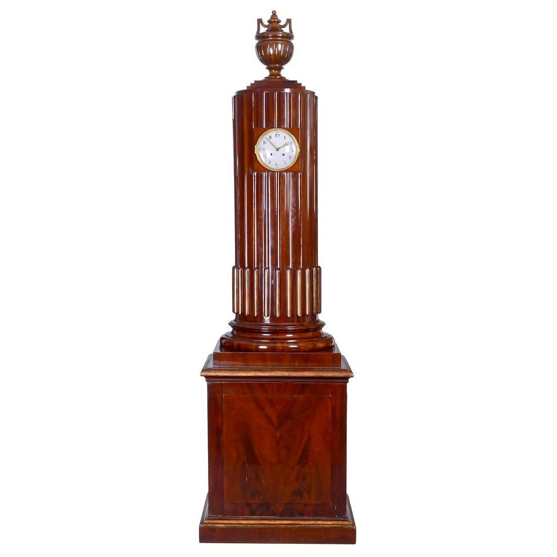 Rare Empire Timepiece with Organ c. 1800