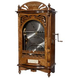Polyphon No. 4 Automatic Disc-Changing Musical Box, c.