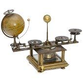 Planetarium Clock by William Perkins, 1925