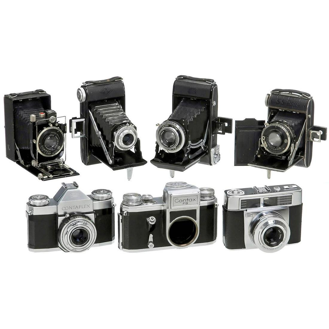 Mixed Lot of 7 Cameras