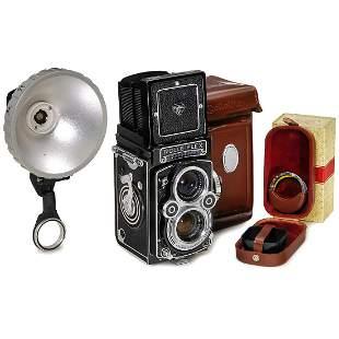 Rolleiflex 3,5 F with Accessories, c. 1960
