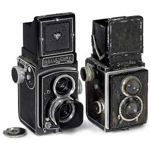 Rolleiflex I and Rolleicord Va