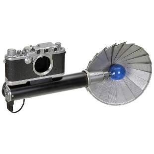Leica III upscale to IIIf with Flash, c. 1949/50