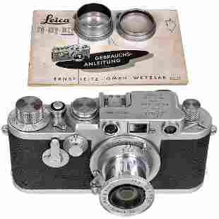 Leica IIIf with Elmar 2,5/5 cm, c. 1955