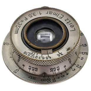 Leitz Nickel Elmar 3,5/3,5 cm, c. 1932