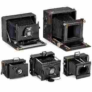 Cameras by Bentzin, Zeiss and Sommer