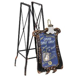 Marquee and Stand for Mutoscope Viewer, c. 1920 onwards