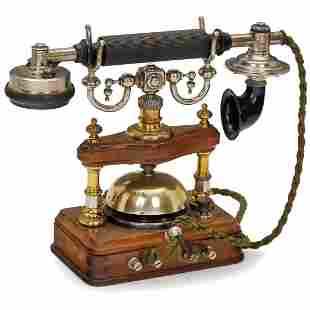 """""""L.M. Ericsson Model BC 2050"""" Telephone, c. 1892"""