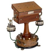 """""""Système Ader"""" Early Table Telephone, France, c. 1880"""