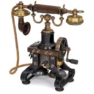 British Skeleton Telephone by L.M. Ericsson, c. 1916