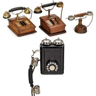 4 International Telephones