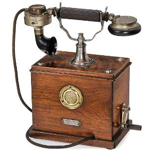 German Table Phone by Friedrich Reiner, c. 1908