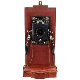 French Wall Telephone, c. 1900